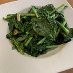 台湾料理 太和菜工坊 - 青菜のガーリック炒め