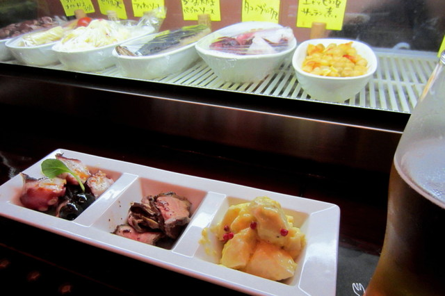 カサ・ペケーニョ - タパス3種盛¥700