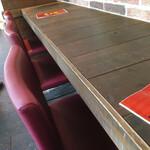 ミネヤキッチンラボ - キッチン側カウンター席