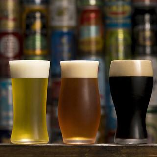 店主セレクトのクラフトビール