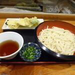 たぐち家 - 野菜天ぷらうどん(800円)_2019-08-01