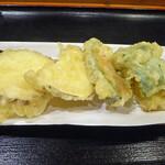 たぐち家 - 5種類の野菜天ぷら_2019-08-01