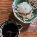 お食事処 木の下 - 鶏皮ぽん酢