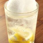 かどはち 燻 - 拘りのシャリキンレモンサワー