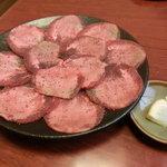 焼肉一善 - 料理写真:タン塩(2人前)