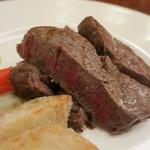 玉木 - ステーキのアップ