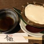 月の蔵人 - 自家製手作りざる豆腐(おかわりできます)
