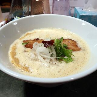 かぞく亭 - 料理写真:濃厚鶏白湯醤油