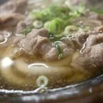 松屋 - 肉うどん(370円)