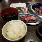 甘太郎 - ご飯・スープも。