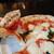 ピッツェリア サン グスト - 平日Aランチ(918円税込 日替わりピッツァ10種から/パスタ)。これはマルゲリータ。
