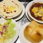 プランタン珈琲商会 - 料理写真:③番のランチ