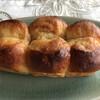 ツェルマット - 料理写真:メープルバターブレッド