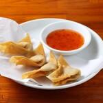 中華麺キッチン まくり - 揚げワンタン