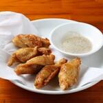 中華麺キッチン まくり - 鶏皮餃子