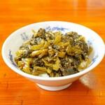 中華麺キッチン まくり - 高菜炒めライス