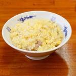中華麺キッチン まくり - 玉子半チャーハン