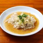 中華麺キッチン まくり - ワンタン皿