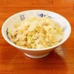 中華麺キッチン まくり - レタス半チャーハン