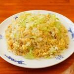 中華麺キッチン まくり - レタスチャーハン