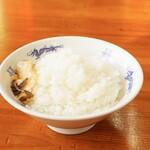 中華麺キッチン まくり - ライス