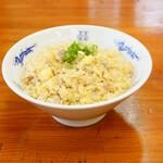 中華麺キッチン まくり - バターしょうゆ半チャーハン