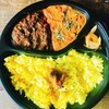 カルガモテラス - 料理写真:2種盛りカリー弁当