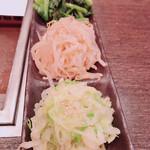Yakiniku TAIGA - ナムル盛り合わせ