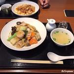 中国料理 空 - 回鍋肉と五目あんかけ焼そば