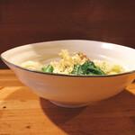 香魚 - キャベツアンチョビ炒め600円
