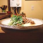 香魚 - 豚のしょうが焼き600円