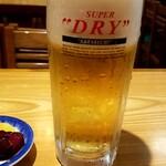 米むら - 生ビール