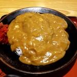 米むら - ハンバーグカレー
