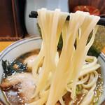 麺屋 もり田 - ツルツルキラキラの麺