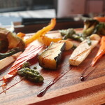 STEAK HOUSE & BBQ BALCONIWA - 野菜のオリーブグリル