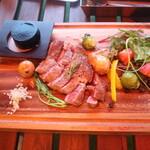STEAK HOUSE & BBQ BALCONIWA - リブステーキ