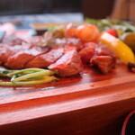 STEAK HOUSE & BBQ BALCONIWA - リブステーキ サイドから
