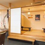 橋本食堂 - 店内