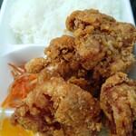 から揚げ専門店 鶏一番 - から揚げ弁当(中)550円
