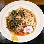 そばいち - 冷し山菜蕎麦