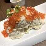 ワイン食堂 TAKEWAKA - イクラとからすみのポテトサラダ