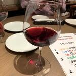 ワイン食堂 TAKEWAKA - 赤ワイン