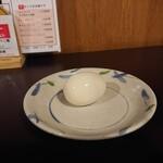 赤坂ふ~ちん - もちろん、セルフサービスのゆで玉子も具のひとつとして。
