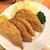 いづみや - 料理写真:200801土 埼玉 いづみや第二支店 ハムカツ300円