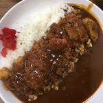 ずぼら - 料理写真:『カツカレー   700円なり』