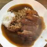 まるきん - 『カツカレー 並   650円なり』