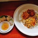 コム ベトナム - 料理写真:生春巻き。タレが美味♪