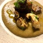 オステリア セルヴァジーナ - 料理写真:〈天然きのこシーズン〉ポルチーニの温菜