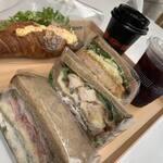 さかいサンド - 料理写真:サンドイッチ達