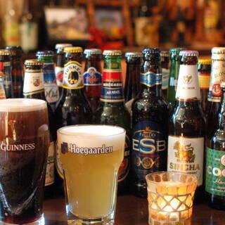約40種の世界のビールを飲みくらべ